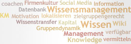 Tag Cloud: Wissensmanagement
