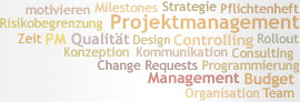 Tag Cloud: Projektmanagement
