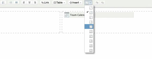 Confluence 4.2 - Page Layout