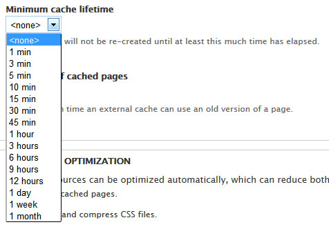 Caching in Drupal 7