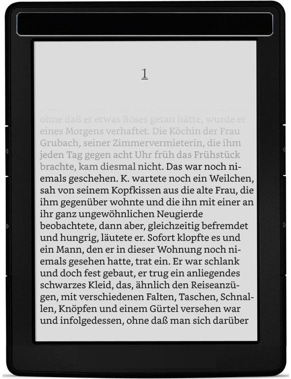 Ebook-Reader der neuen Generation (Prototyp)